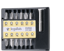 LEGALLAIS Bit-Set - PH/PZ/TORX